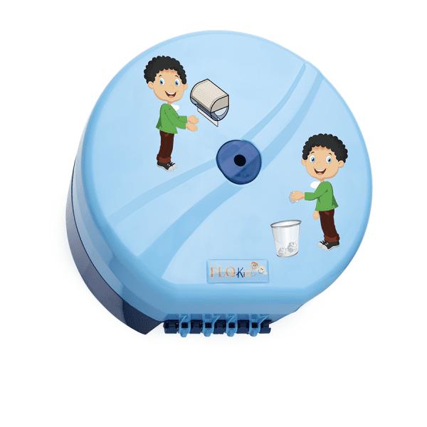 AllServices Zásobník toaletního papíru se středovým odvíjením, dětský vzor - modrý
