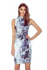 Morimia Dámské šaty 002-1 vícebarevné XS
