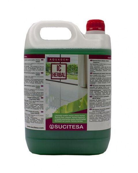 Sucitesa Aquagen IC Herbal - na mytí podlah 5 l