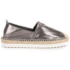 Ženski nizki čevelj 38752, odtenki sive in srebrne, 37