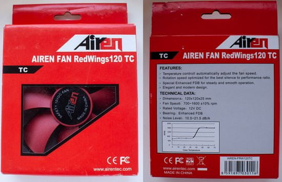 Airen RedWings120 TC ThermoControl