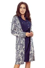 Numoco Női kabát 218-3, kék, L
