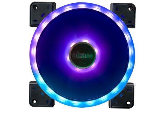 Akasa Vegas TLY, RGB LED, 3-pin, 140mm