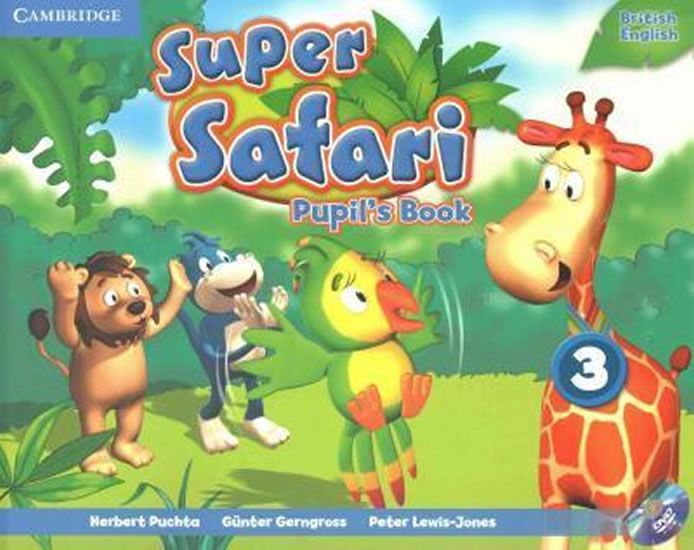 Puchta Herbert: Super Safari Level 3 Pupil´s Book with DVD-ROM