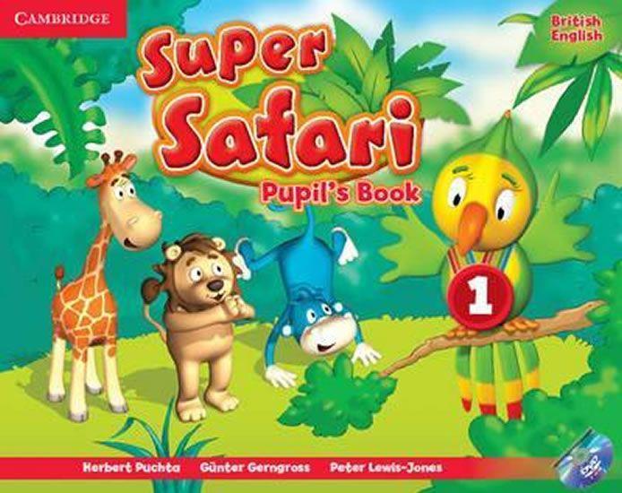 Puchta Herbert: Super Safari Level 1 Pupil´s Book with DVD-ROM