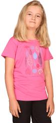 ALPINE PRO Branto 2 otroška majica, 164 - 170, siva