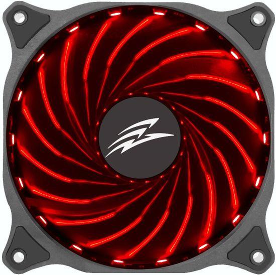 Evolveo 12R1, RGB ventilátor 120mm, 12V, 6pin