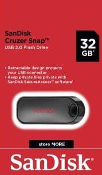 SanDisk dysk flash Cruzer Snap 32GB (SDCZ62-032G-G35)