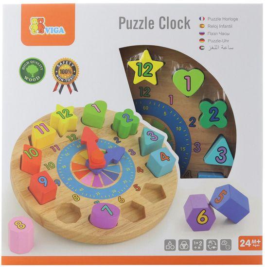 Viga drveni sat za djecu
