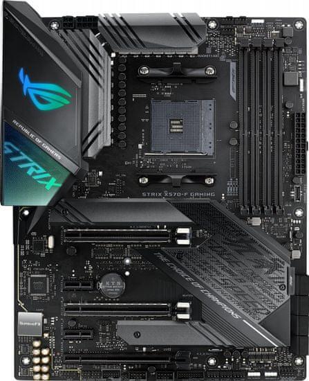 Asus ROG STRIX X570-F GAMING, DDR4, USB 3.2 Gen2, AM4, ATX