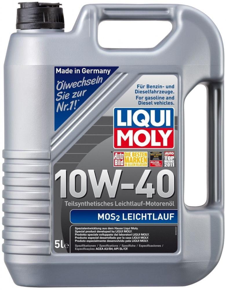 Liqui Moly Liqui Moly MOS2 Leichtlauf 10W-40 5L