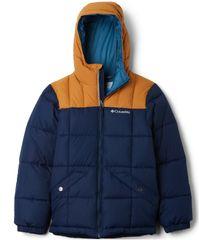 COLUMBIA kurtka chłopięca Gyroslope 140 niebieska