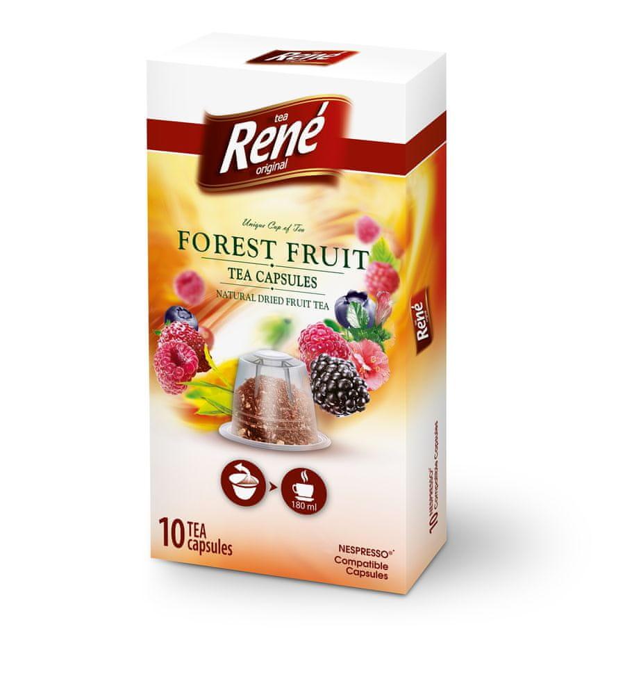 René Fruit lesní ovoce čajové kapsle Nespresso 10 ks