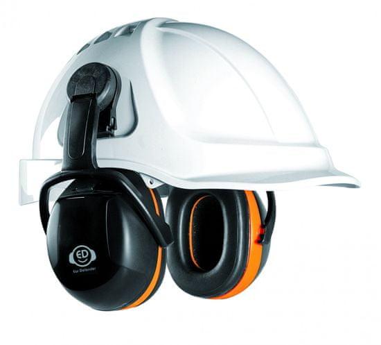Ear Defender Dielektrické ochranné sluchátka ED 3C SNR 31 dB, upevnění na přilbu