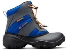 Columbia chlapecké zimní boty YOUTH ROPE TOW 36 modrá/černá