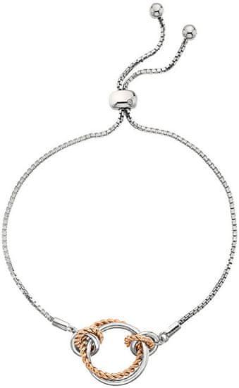 Hot Diamonds Srebro bransoletka z odpowiednim diamentem Jasmine RG DL593