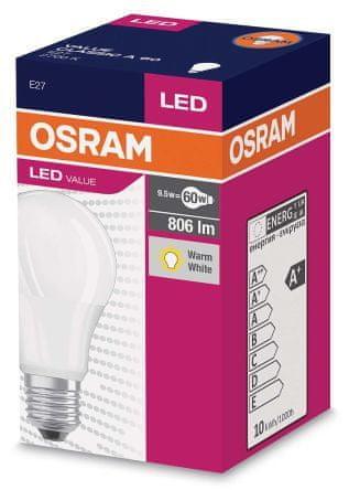 LEDVANCE žarnica LED, 8,5W, E27
