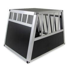 kletka za prevoz psa M-L 69x54x50 cm