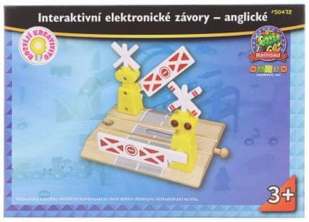 Maxim przejazd kolejowy elektroniczny, interaktywny - angielski