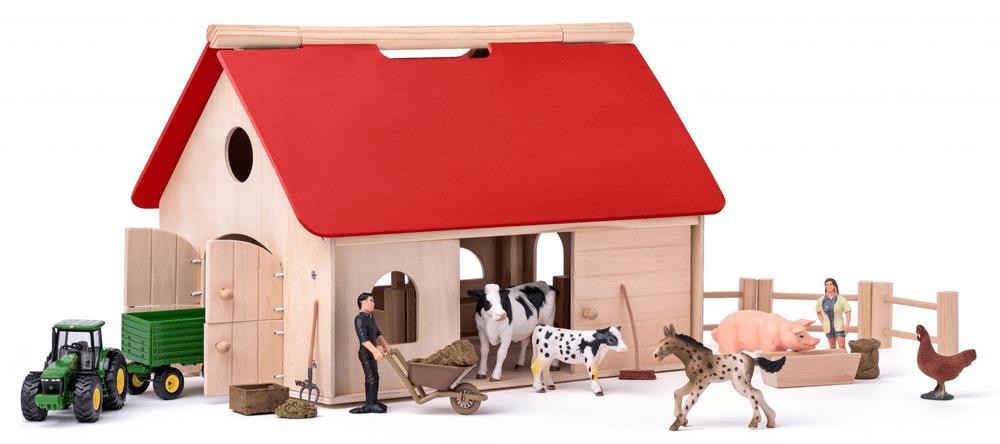 """Woody Farma s příslušenstvím a zvířaty """"Romano"""""""