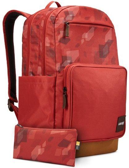 Case Logic Query batoh 29 l (cihlově červená se vzorem/kmínově hnědá) CL-CCAM4116BC