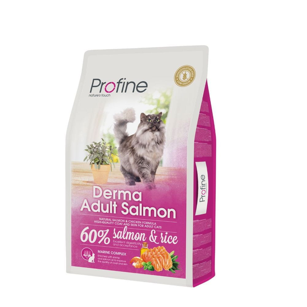 Profine Cat Derma Adult Salmon 10 kg