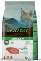Bravery Cat KITTEN Grain Free 2 kg