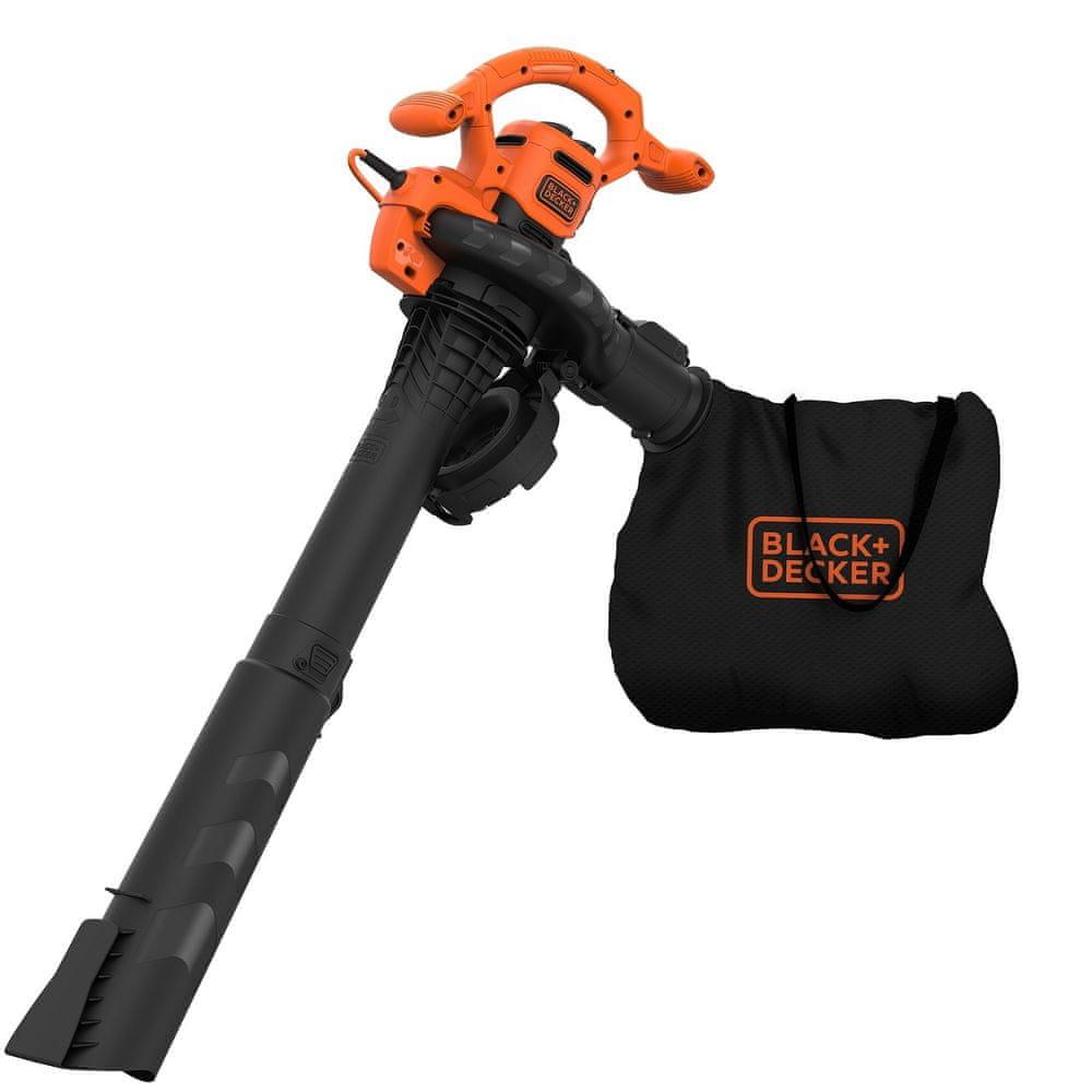 Black+Decker Elektrický zahradní vysavač/fukar/drtič 3v1 2500W BEBLV260-QS