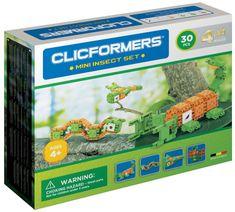 CLICFORMERS Mini insekti, set za sastavljanje