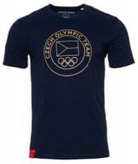 CZECH TEAM pánské tričko S tmavě modrá