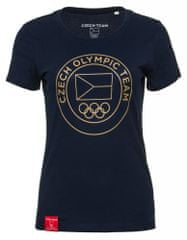 CZECH TEAM dámské tričko XS tmavě modrá