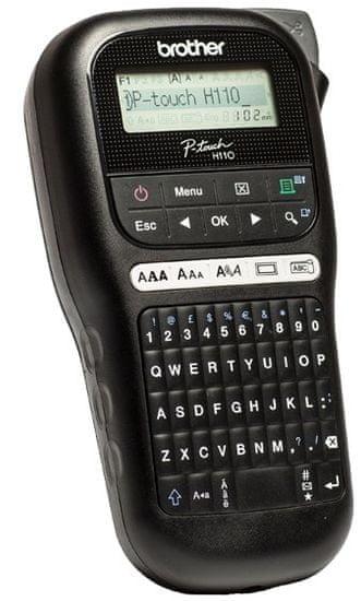 BROTHER ręczna drukarka etykiet PT-H110 (PTH110YJ1)