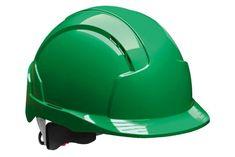 JSP Pracovní průmyslová přilba EVOLite s otočným kolečkem zelená