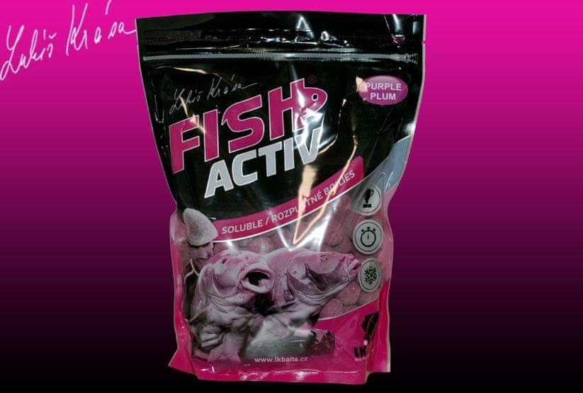 Lk Baits Fish Activ Purple Plum 1kg, 20mm