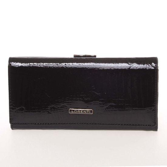 Lorenti Kožená dámská peněženka Brenda, černá