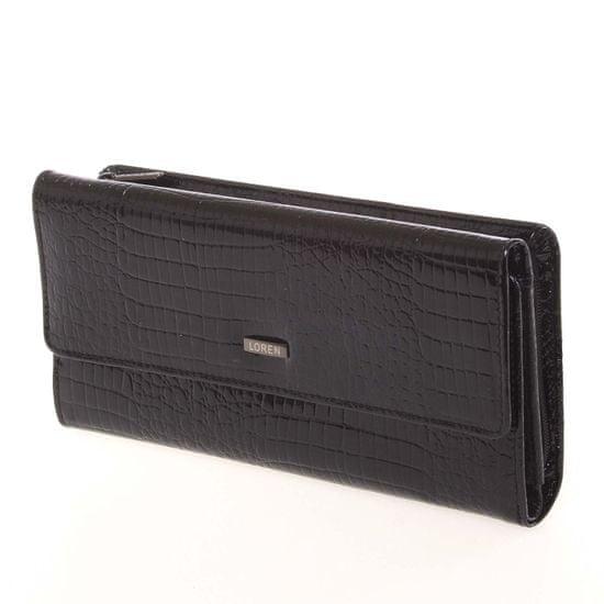 Lorenti Kožená dámská peněženka Alison, černá