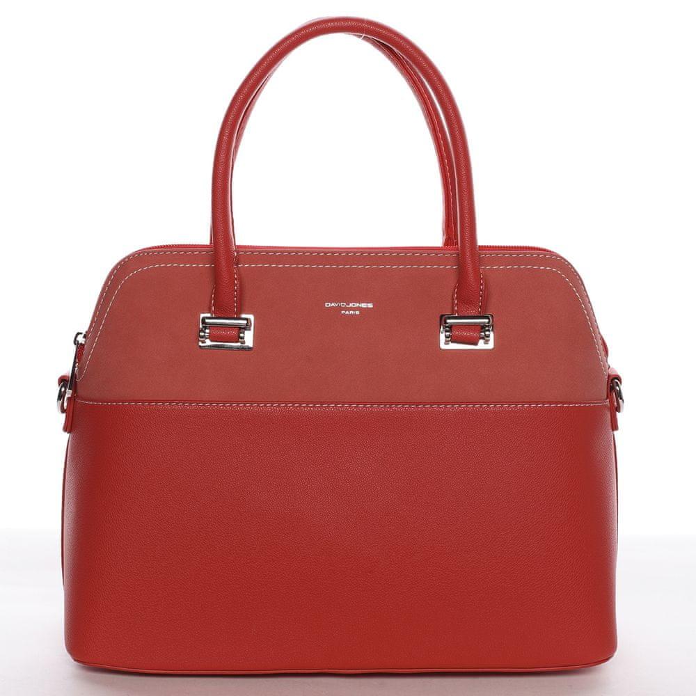 David Jones Dámská luxusní kabelka Gabriela červená