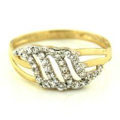 Amiatex Zlatý prsten 13480, 52, 2.75 G