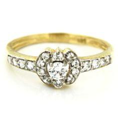 Amiatex Zlatý prsten 13496, 57, 2.25 G