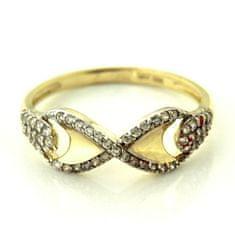 Amiatex Zlatý prsten 14278, 57, 1.9 G