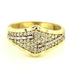Amiatex Zlatý prsten 13499, 52, 3.5 G