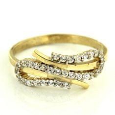 Amiatex Zlatý prsten 13495, 53, 2.25 G