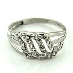 Amiatex Zlatý prsten 13473, 53, 3.05 G