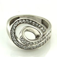 Amiatex Zlatý prsten 13519, 54, 5.95 G