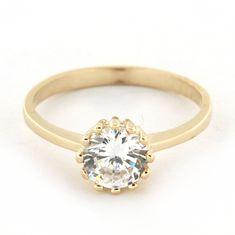 Amiatex Zlatý prsten 15742, 58, 1.35 G