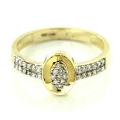 Amiatex Zlatý prsten 14275, 56, 2.25 G