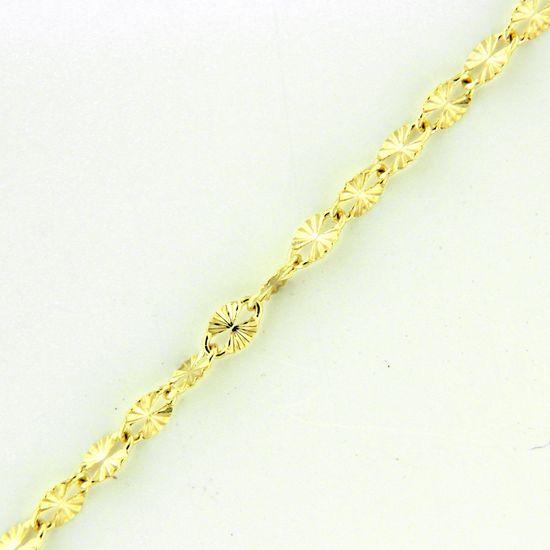 Amiatex Arany nyaklánc 17305 + Nőin zokni Gatta Calzino Strech