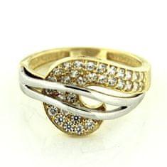 Amiatex Zlatý prsten 13557, 54, 3.95 G