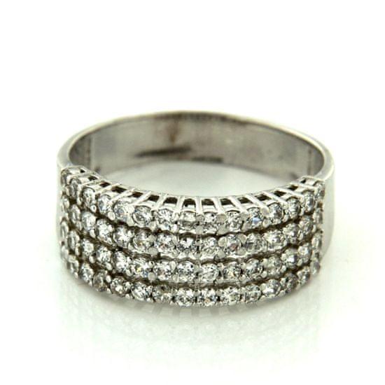 Amiatex Zlatý prsten 25234 + Ponožky Gatta Calzino Strech