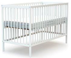 AT4 dětská postýlka ESSENTIEL 60 × 120 cm bílá